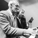 Robert Nasveld & George Crumb Photo © Co Broerse