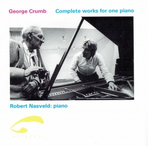 George Crumb complete works for piano